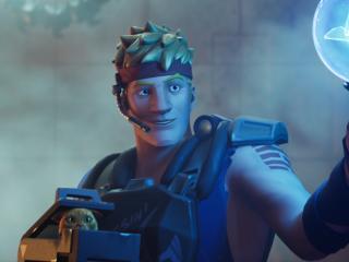 Agent Jones Fortnite 2 wallpaper