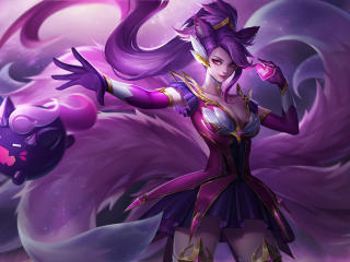 Ahri From League Of Legends wallpaper