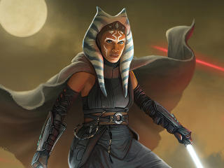 Ahsoka Tano Concept Art Star Wars wallpaper