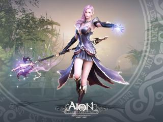 aion the tower of eternity, girl, dress wallpaper