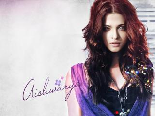 Aishwarya Rai Glamorous Hair Style wallpapers wallpaper