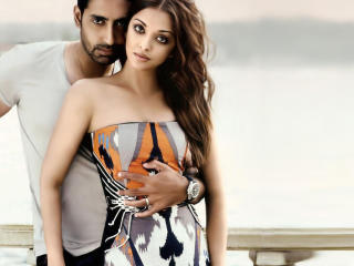 HD Wallpaper | Background Image Aishwarya Rai with Abhishek wallpapers
