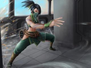 Akali from League Of Legends wallpaper