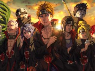 Akatsuki Organization Anime wallpaper