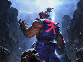 Akuma Street Fighter Game wallpaper