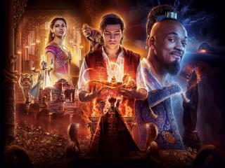 Aladdin 2019 Movie 4K 6K wallpaper