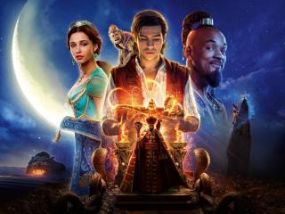Aladdin 2019 Movie Banner 8K wallpaper