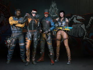 Aldecaldos Cyberpunk 2077 wallpaper