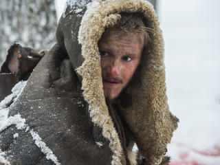 Alexander Ludwig as Bjorn Lothbrok Vikings wallpaper