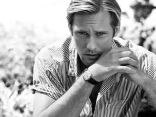 alexander skarsgard, actor, face wallpaper