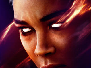 Alexandra Shipp as Storm in X-Men Dark Phoenix wallpaper
