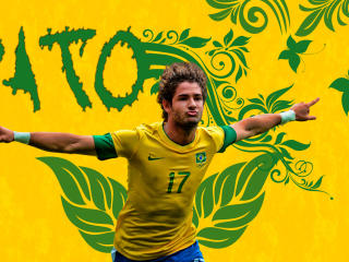 Alexandre Pato Brazil wallpaper
