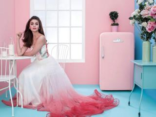 Alia Bhatt Elle India wallpaper