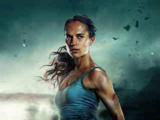 Alicia Vikander As Lara Croft wallpaper