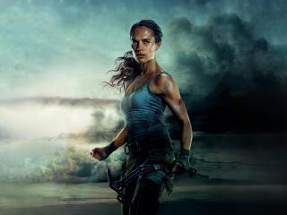 Alicia Vikander Tomb Raider 2018 Movie wallpaper