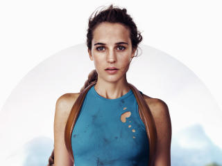 Alicia Vikander Tomb Raider wallpaper