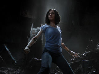 Alita Battle Angel 2018 wallpaper