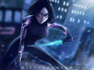 Alita Battle Angel Arts wallpaper