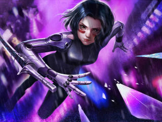 Alita Cyborg Battle Angel wallpaper