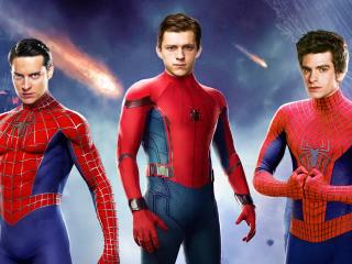 All Spider-Man in No Way Home FanArt wallpaper