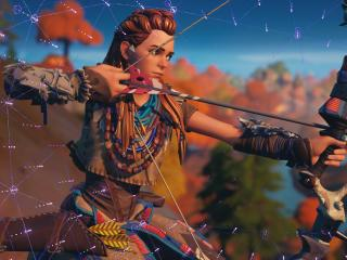 Aloy Fortnite 2021 wallpaper