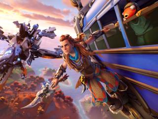 Aloy HD Fortnite wallpaper