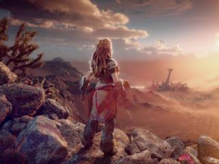 Aloy Horizon Forbidden West wallpaper