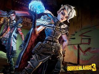 Amara Borderlands 3 wallpaper