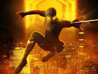 Amazing Spider-Man No Way Home 4k wallpaper