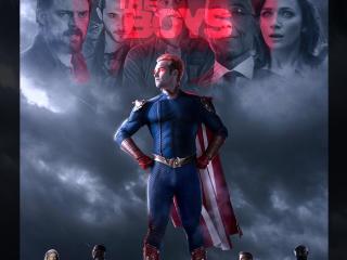 Amazon The Boys Fan Poster wallpaper