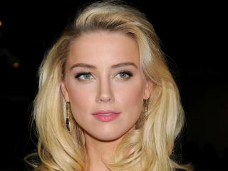 amber heard, actress, blonde wallpaper