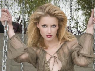 Amber Heard Stylish Hd Photoshoot wallpaper
