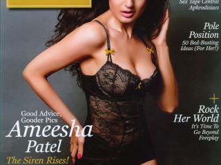 Ameesha Patel In Maxim Magazine  wallpaper
