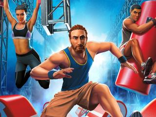American Ninja Warrior Challenge Game wallpaper