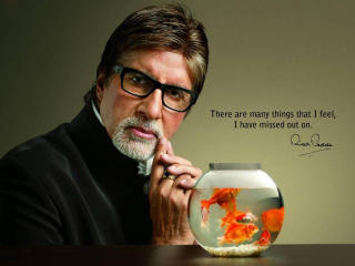 HD Wallpaper | Background Image Amitabh Bachchan Quotes Wallpaper