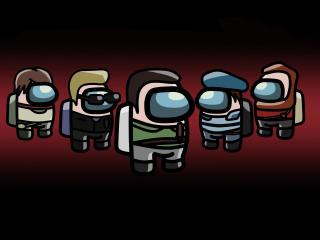 Among Us x Resident Evil wallpaper