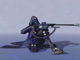 Ana Shrike Overwatch wallpaper