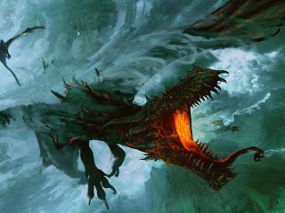 Ancalagon Dragon wallpaper