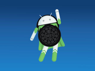 Android Oreo Logo wallpaper