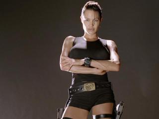Angelina Jolie as Lara Croft wallpapers wallpaper