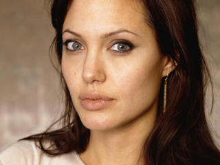Angelina Jolie Close Up Hd Images wallpaper