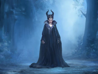 Angelina Jolie Maleficent Mistress Of Evil wallpaper