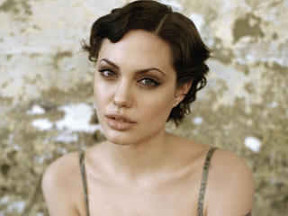 Angelina Jolie Short Hair style wallpaper wallpaper