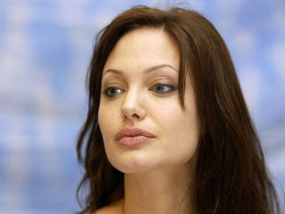 Angelina Jolie Simple Beauty Wallpapers wallpaper