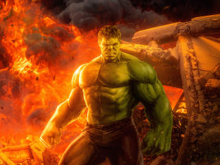 Angry Hulk Marvel Comic wallpaper