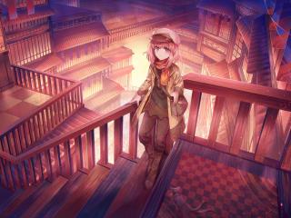 Anime Girl Portrait wallpaper