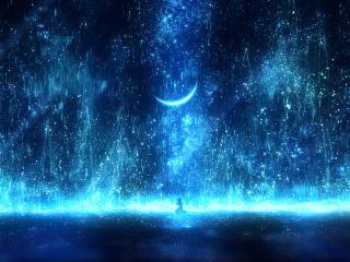 Anime Night Effect wallpaper