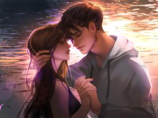 Anime Romantic Couple 2019 wallpaper