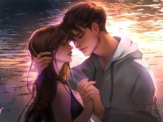 Anime Romantic Couple 2019 wallpaper