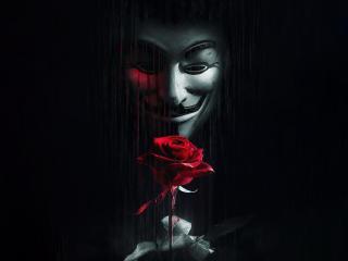 Anonymous 4k wallpaper